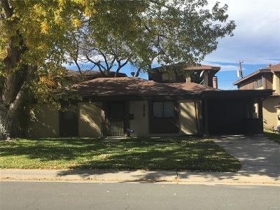 Denver CO Single Family Home Active: $305,000