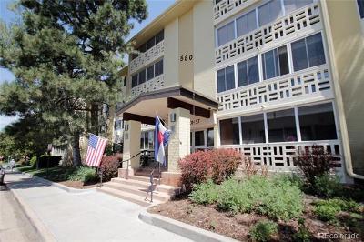 Denver Condo/Townhouse Active: 580 South Clinton Street #1A