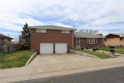 Commerce City Single Family Home Active: 7240 East 72nd Place