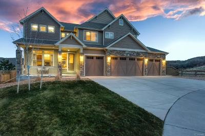 Castle Rock CO Single Family Home Under Contract: $789,900