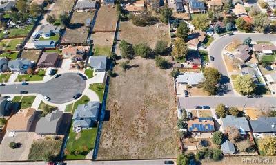 Denver Residential Lots & Land Active: Raritan Street