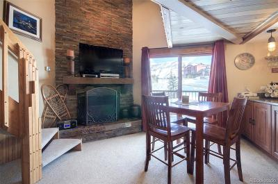 Steamboat Springs Condo/Townhouse Active: 1945 Cornice Drive #2135