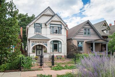 Denver Single Family Home Active: 453 Delaware Street