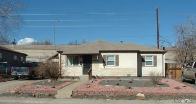 Thornton Single Family Home Under Contract: 1781 Ruth Drive