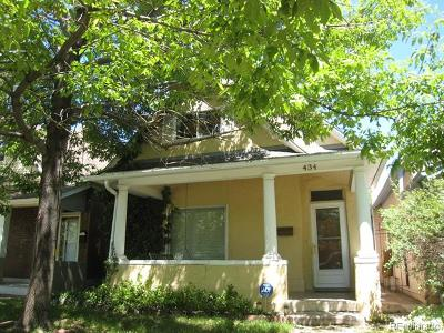 Denver Single Family Home Active: 434 South Grant Street