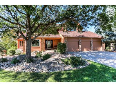 Castle Pines Single Family Home Under Contract: 7783 Yorkshire Drive