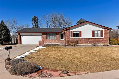 Centennial Single Family Home Active: 1945 East Davies Place