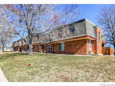 Broomfield Condo/Townhouse Sold: 1130 Dexter Street