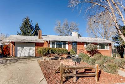 Arvada Single Family Home Active: 7711 Teller Street