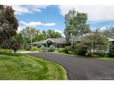 Littleton Single Family Home Active: 4990 Larkspur Street