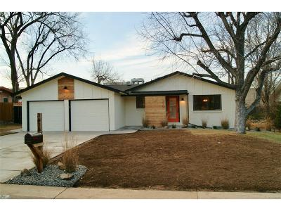 Wheat Ridge Single Family Home Active: 3435 Wright