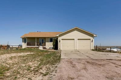 Elizabeth Single Family Home Under Contract: 8725 Lariat Loop