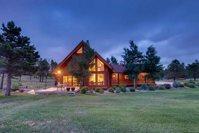 Colorado Springs Single Family Home Under Contract: 8340 Swan Road
