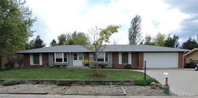 Longmont Single Family Home Under Contract: 7170 Glacier View Road