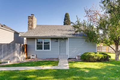 Aurora Single Family Home Under Contract: 11985 East Cornell Circle