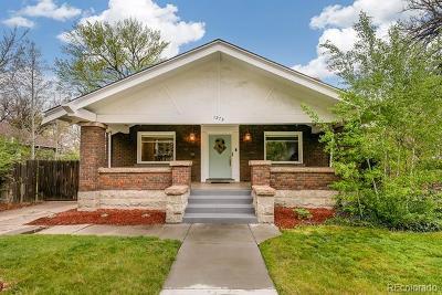Washington Park Single Family Home Active: 1375 South University Boulevard