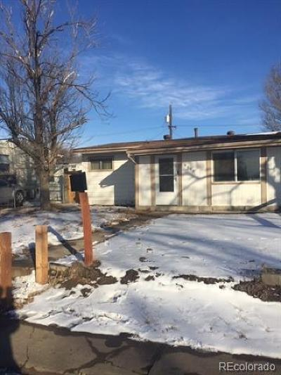 Commerce City Single Family Home Active: 6950 Birch Street