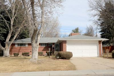 Centennial Single Family Home Under Contract: 2927 East Euclid Place