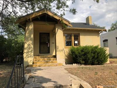Denver Single Family Home Active: 3248 Osceola Street