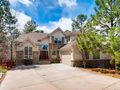 Castle Pines Single Family Home Under Contract: 7053 Timbercrest Way