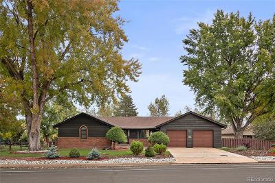 Centennial Single Family Home Active: 3661 East Orchard Road