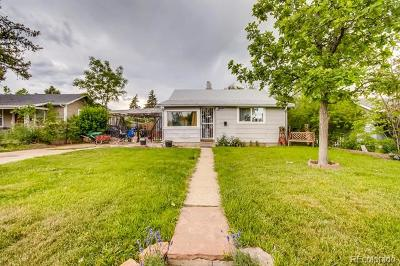 Denver Single Family Home Active: 1271 Uinta Street