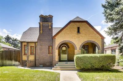 Denver Single Family Home Active: 565 South University Boulevard