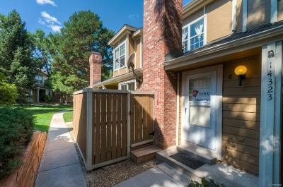 Aurora Condo/Townhouse Active: 14323 East Dickinson Drive #E