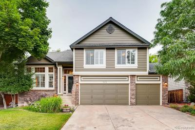 Highlands Ranch Single Family Home Under Contract: 965 Sparrow Hawk Drive