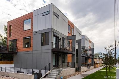 Denver Condo/Townhouse Active: 3146 West 20th Avenue