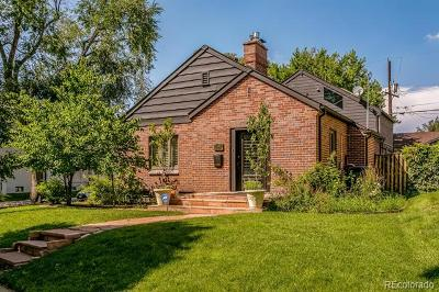 Denver Single Family Home Active: 1032 Bonnie Brae Boulevard