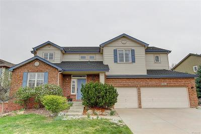 Littleton Single Family Home Under Contract: 10514 Serengeti Drive