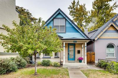 Denver Single Family Home Active: 3485 West 33rd Avenue