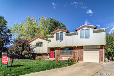Boulder Single Family Home Active: 1017 Vivian Circle