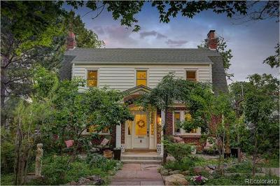Boulder Single Family Home Active: 854 15th Street