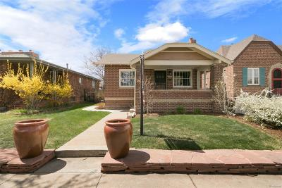 Denver Single Family Home Active: 1963 South Sherman Street