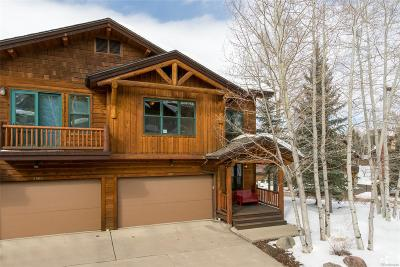 Steamboat Springs Condo/Townhouse Active: 2903 Mountaineer Circle #A