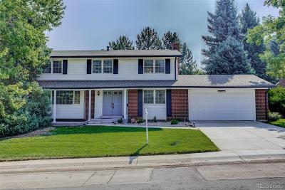 Centennial Single Family Home Under Contract: 6142 South Kearney Street