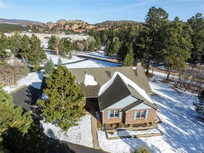 Larkspur CO Single Family Home Under Contract: $619,000