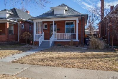 Denver Single Family Home Under Contract: 252 South Corona Street