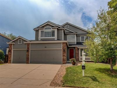 Highlands Ranch Single Family Home Under Contract: 416 Bexley Street