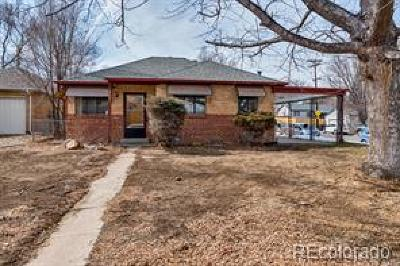 Denver Single Family Home Active: 2601 South York Street