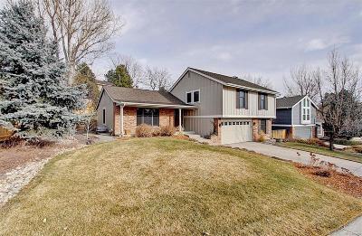 Centennial CO Single Family Home Under Contract: $565,000