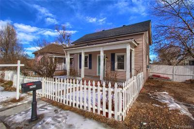 Denver Single Family Home Under Contract: 3820 South King Street