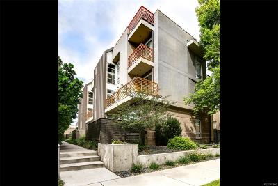 Washington Park Condo/Townhouse Under Contract: 37 South Ogden Street