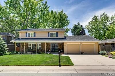 Denver Single Family Home Active: 3755 South Niagara Way