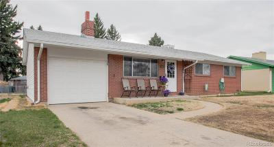 Longmont Single Family Home Under Contract: 1841 Corey Street