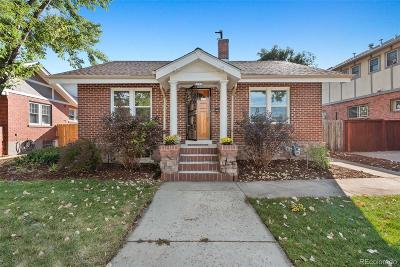 Denver Single Family Home Active: 1266 South Emerson Street
