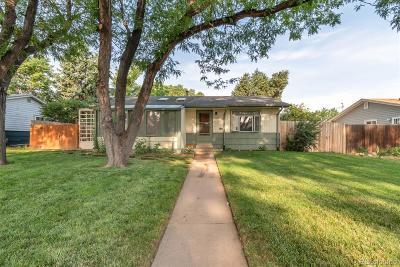 Englewood Single Family Home Active: 3271 South Galapago Street