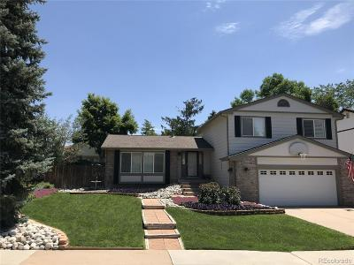 Highlands Ranch Single Family Home Under Contract: 8466 South Wildcat Street